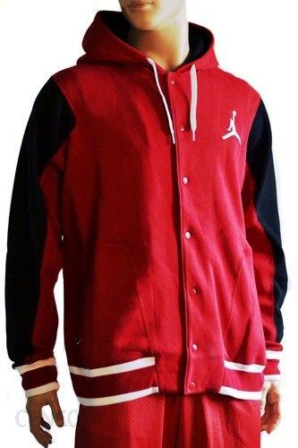 Bluza baseball Nike Jordan The Varsity Hoody 2.0