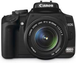 Lustrzanka Canon Eos 400d 18 55mm Ceny I Opinie Na Ceneo Pl