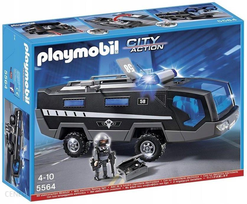 Klocki Playmobil City Action Ciężarówka Oddziału Specjalnego 5564