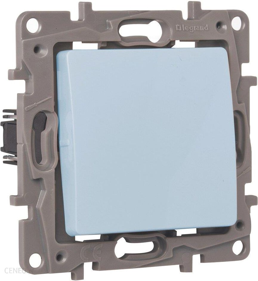 Legrand Włącznik Pojedynczy Schodowy Niloe Aluminium 3414970303387