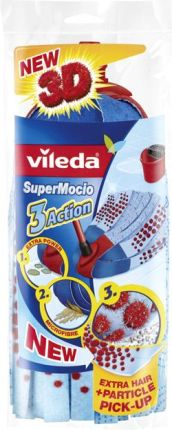Vileda Wkład Do Mopa Supermocio 3Action Velour 137477