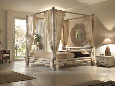 Bortoli Komplet Sypialniany Z Baldachimem Z Bambusa Tabanan łóżko 140 417 Opinie I Atrakcyjne Ceny Na Ceneopl