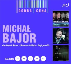 Michał Bajor - Od Piaf do Garou / Piosenki Grechuty i Kofty / Moje podróże (CD)