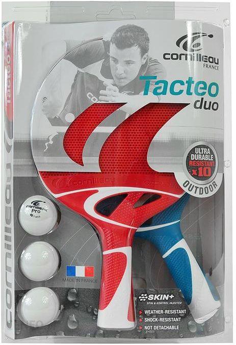 Cornilleau Tacteo Duo Czerwona+Niebieska 2Rak+3P 455450