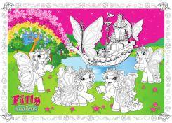 Bomabi Kolorowanka Podlogowa Filly Butterfly Ceny I Opinie