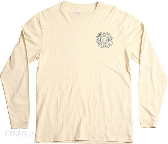 12fdece67f koszulka INDEPENDENT - Bt Cross Ls Bone White (BONEWHITE) size  L - zdjęcie