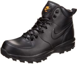 Nike Sportswear MANOA Botki sznurowane czarny Ceny i