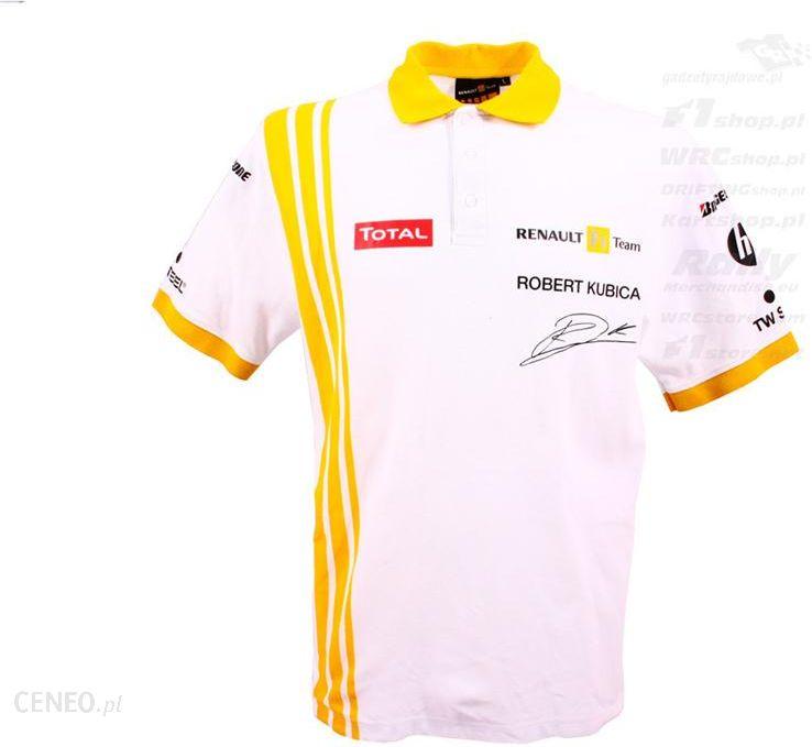 7702c383bdf065 Koszulka polo męska Kubica Renault F1 Team - Ceny i opinie - Ceneo.pl