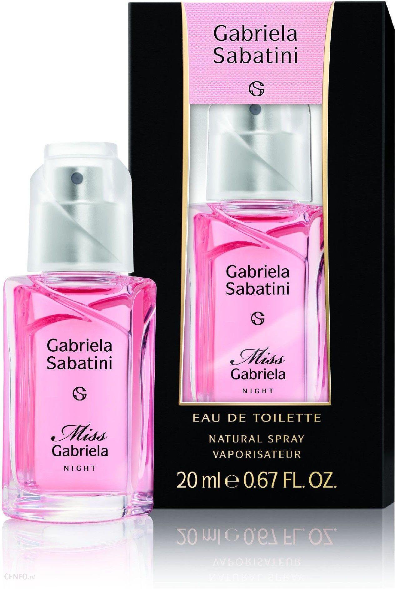 Gabriela Sabatini Miss Gabriela Night woda toaletowa 20ml