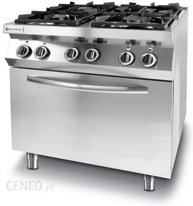 Hendi Kuchnia 4 Palnikowa Kitchen Line Z Piekarnikiem Elektrycznym Gn 1 1 Ceny I Opinie Ceneo Pl