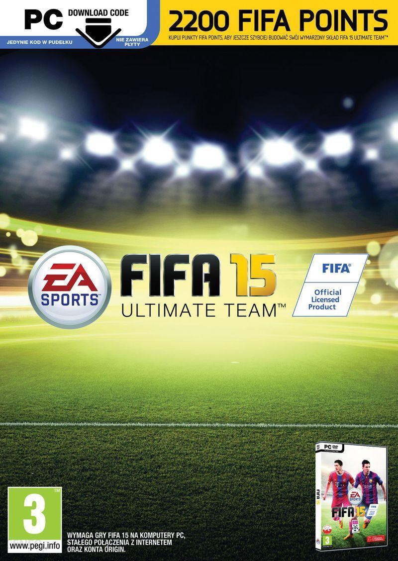 Fifa 15 Fifa Ultimate Team 2200 Points Karta Pre Paid Podarunkowa Ceny I Opinie Ceneo Pl