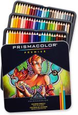 Prismacolor Colored Pencils 72 Kol Metal