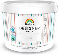 Beckers Farba Lateksowa Designer White 10l