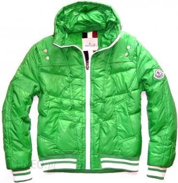 moncler kurtka zielone