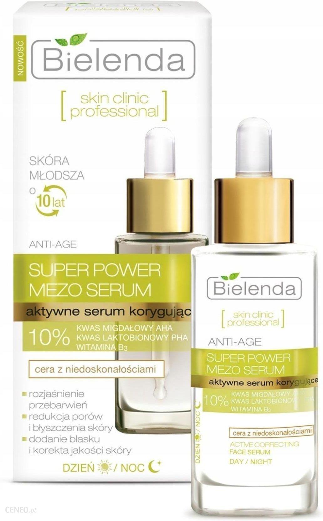 Bielenda Skin Clinic Professional Aktywne Serum Korygujące na Dzień i Noc 30ml