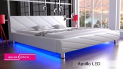 Estilo Łóżko Do Sypialni Apollo LED