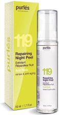 Krem do twarzy Purles Acid Peels 119 Repairing Night Peel Odnawiający Żel Eksfoliujący z kwasami AHA 50ml - Opinie i ceny na Ceneo.pl