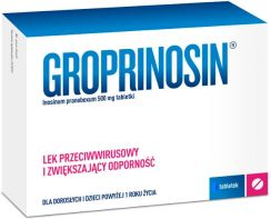 Groprinosin 500 mg 50 tabl.