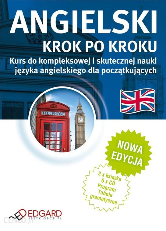 Nauka Angielskiego Angielski Krok Po Kroku Nowa Edycja Ceny I Opinie Ceneo Pl