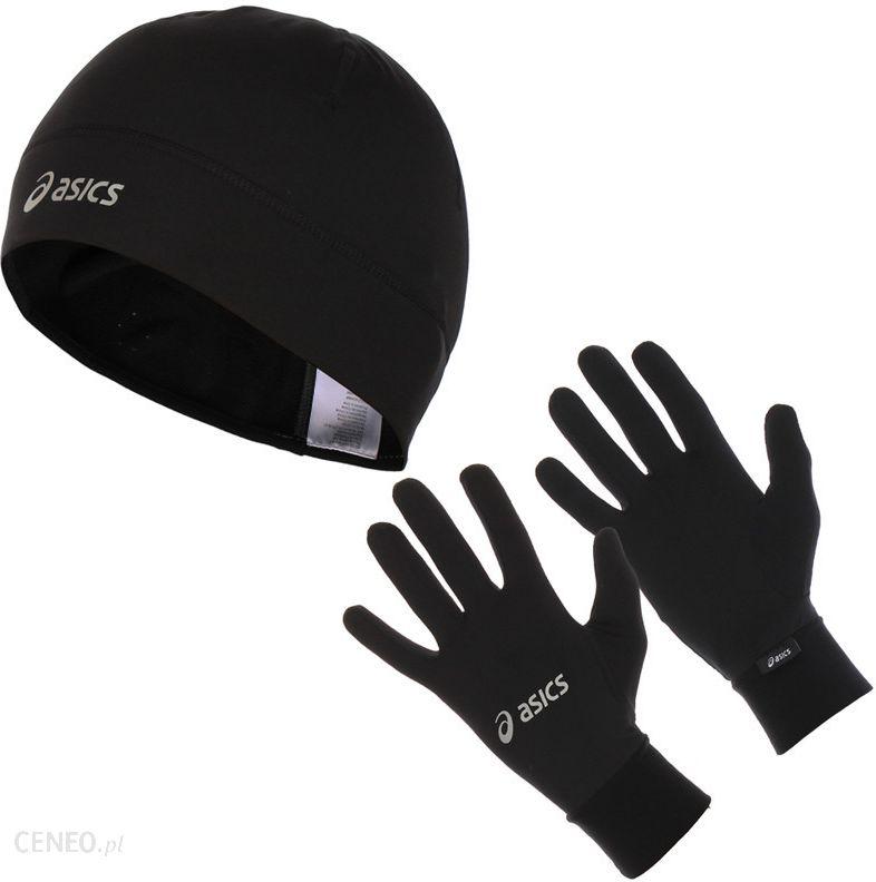 Czapka i rękawiczki ASICS RUNNING PACK 114706 0900 Ceny i opinie Ceneo.pl