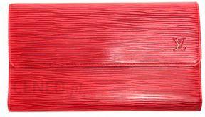 63c04a6e0affe Louis Vuitton portfel czerwony - Ceny i opinie - Ceneo.pl