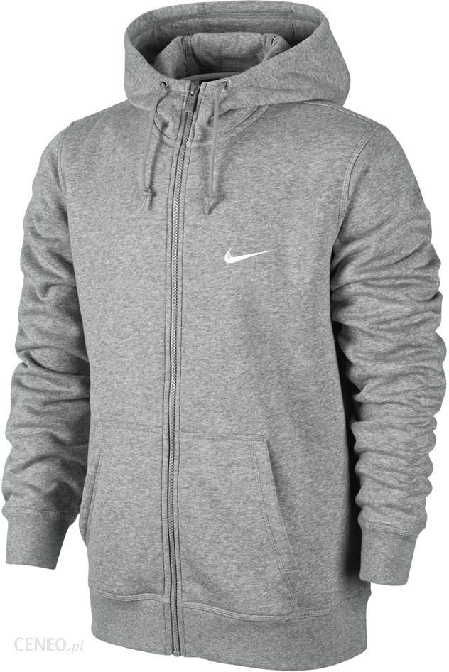 Bluza Nike Club FZ Hoody Swoosh 611456 010 Ceny i opinie Ceneo.pl