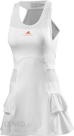 f58036c84 Adidas Sukienka By Stella Mccartney Barricade Dress Wimbledon - White  (G78452) - zdjęcie 1