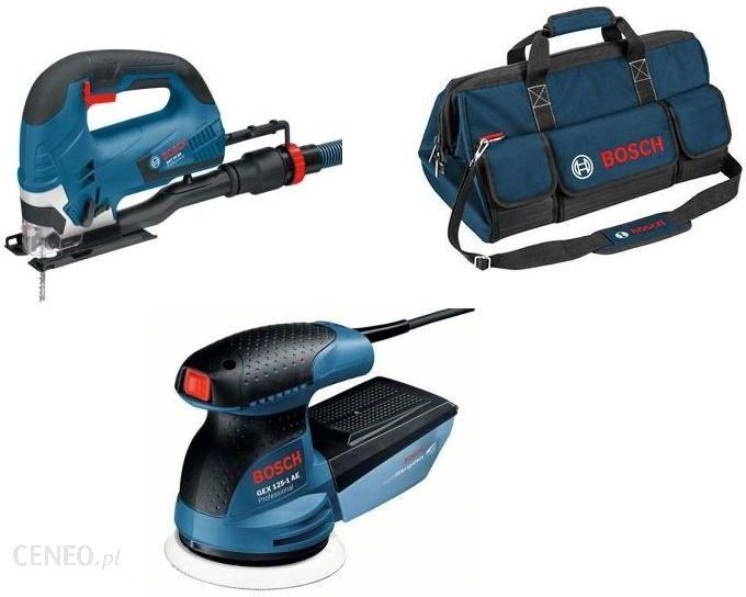 5265c529bb29b6 Wyrzynarka Bosch Gst 90 Be + Gex 125-1 Ae + Torba - Opinie i ceny na ...