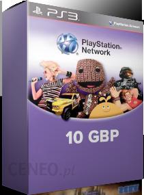 Sony Playstation Network 10 Gbp Karta Pre Paid Podarunkowa