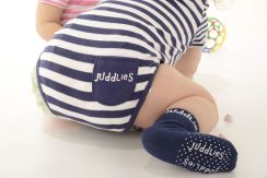 Juddlies Body Patriot Blue Stripe 12-24m