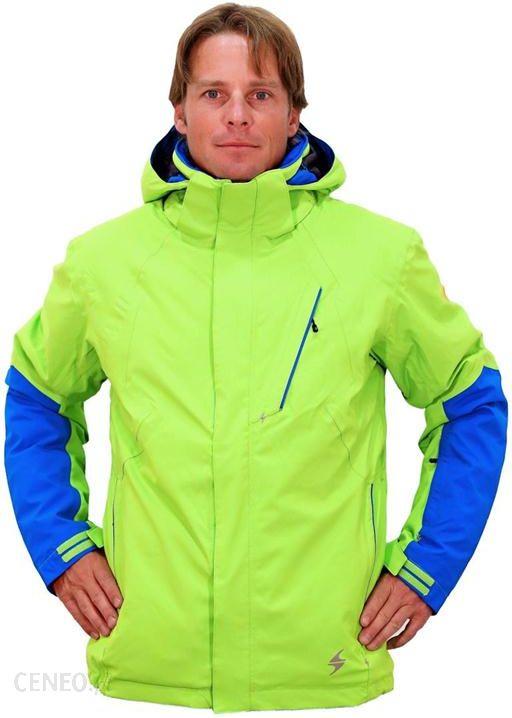 6830a44e5 Kurtki narciarskie Performance Jacket Zielony Niebieski L - Ceny i ...