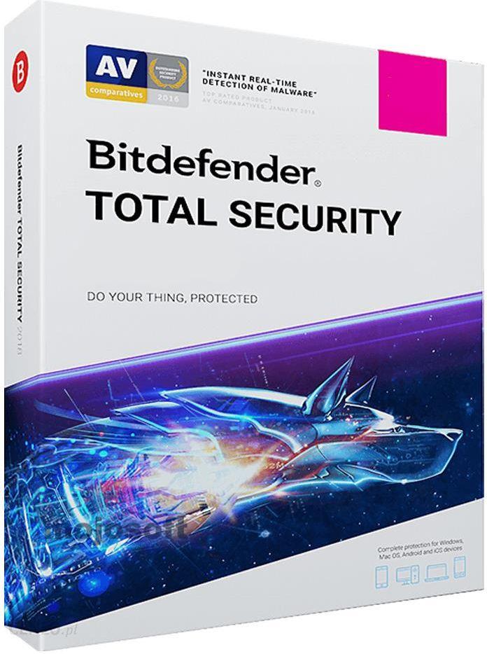 Bitdefender Total Security 10PC/2Lata Odnowienie (BDTS-K-2Y-10D)