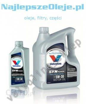 76215109a80162 Olej silnikowy VALVOLINE SynPower 5W30 5L (4L+1L) - Opinie i ceny na ...