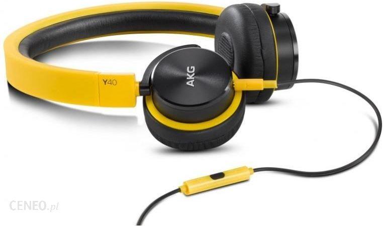 AKG Y40 YE żółte