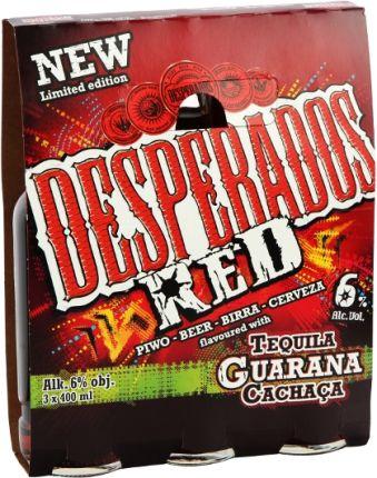 Desperados Red Piwo O Smaku Tequili 3x400ml Ceny I Opinie Ceneo Pl