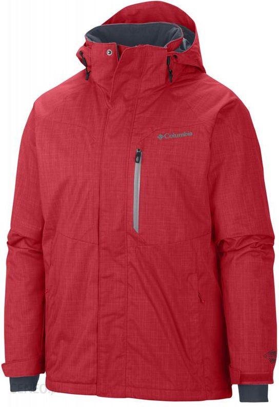 95d18b3d173f4 COLUMBIA Alpine Action Jacket Bright Red/Tradewinds Grey Pop XXL - zdjęcie 1