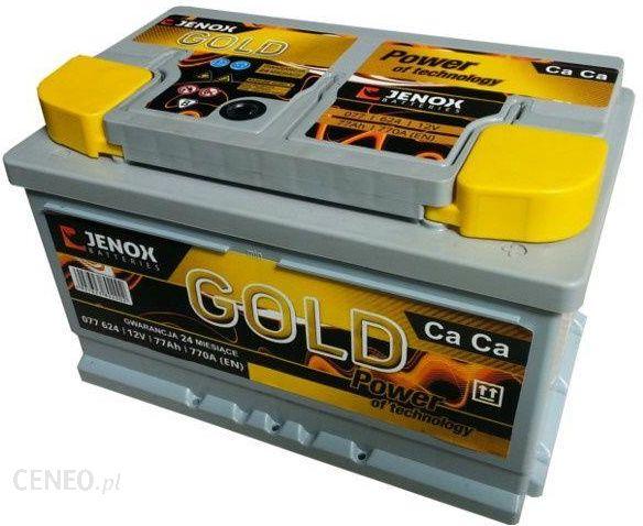 Jenox Gold 077624Z 12V 77 Ah / 770 A