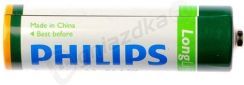 Philips Lighting Bateria Cynkowo-Węglowa Philips Longlife R6 (4Szt.) 80977330