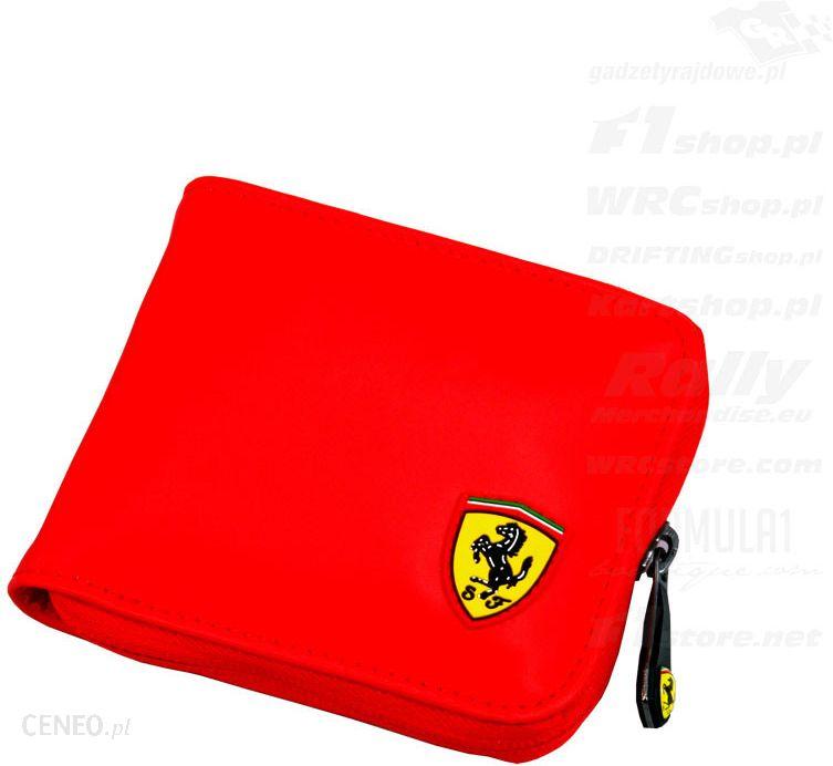 cf6279aa33290 Portfel czerwony Ferrari F1 Team 2015 - Ceny i opinie - Ceneo.pl