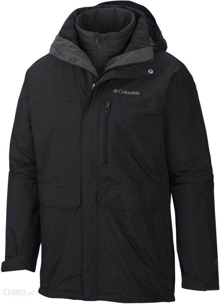 0f3d5aa86186e COLUMBIA Portland Explorer Interchange Jacket Black/Black M - Ceny i ...