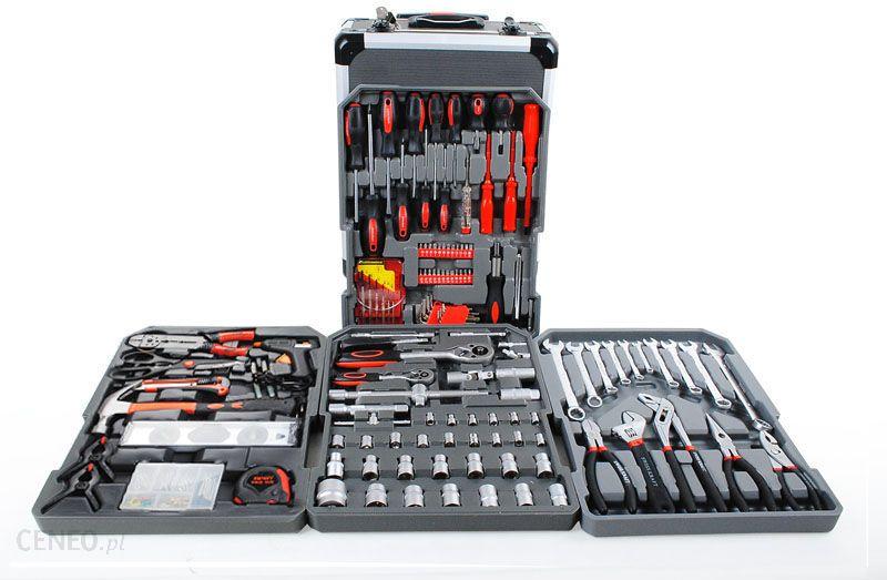 2442877cde4e85 Zestaw narzędziowy Kaminer Malatec Zestaw narzędzi w walizce 186 el -  zdjęcie 1