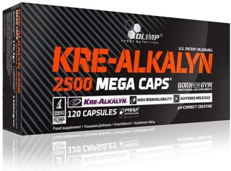 Olimp Kre-Alkalyn 2500 Mega Caps 120 kap