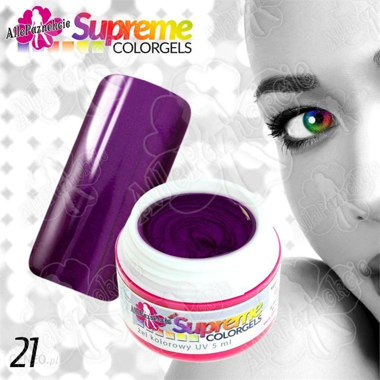 Allepaznokcie 21 supreme colorgel śliwkowy 5ml