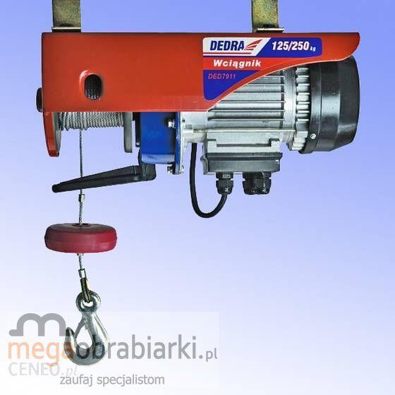 Zaawansowane Urządzenie dźwigowe DEDRA Wciągarka linowa elektryczna 230V LR18