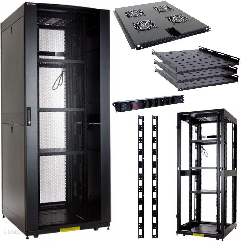 Linkbasic Rack Cabinet 19'' 42U 800X900Mm Black