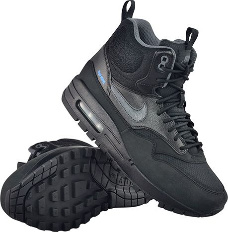 Buty Nike Wmns Air Max 1 Mid Sneakerboot Black (685267 003) Ceny i opinie Ceneo.pl
