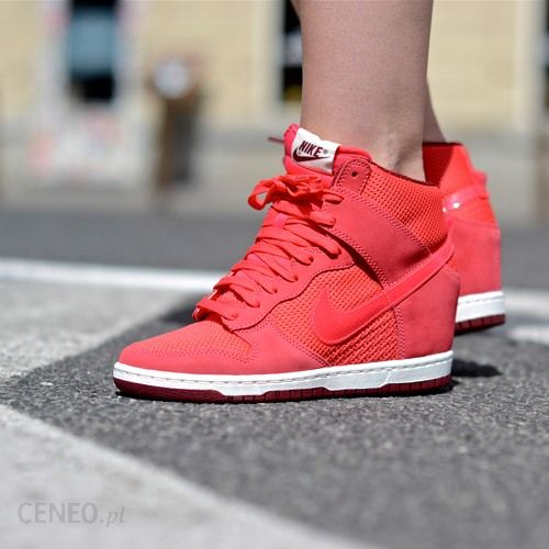 huge discount 92b35 c8860 ... denmark buty nike wmns dunk sky hi essential quotgeraniumquot b9bb7  6f838 ...