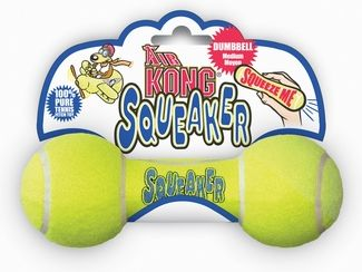 Kong Squeaker Dumbbell - Large