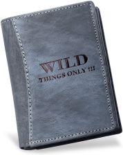 1fd3bfd165aa5 MĘSKI PORTFEL WILD THINGS ONLY! - SKÓRA NATURALNA