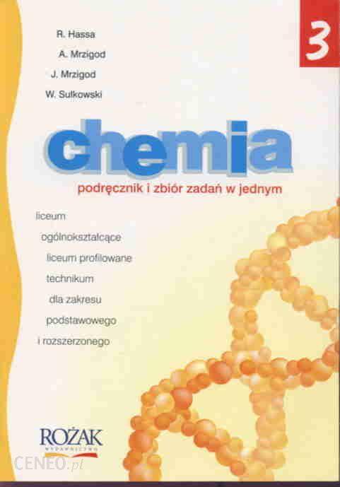 chemia podręcznik i zbiór zadań w jednym wyd rożak